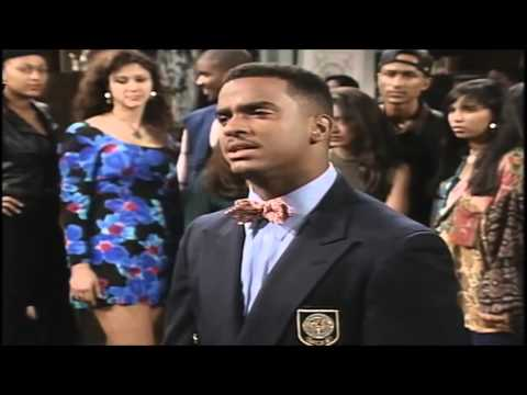 The Fresh Prince of Bel Air Clip - Intersectionality of Social Class and Race
