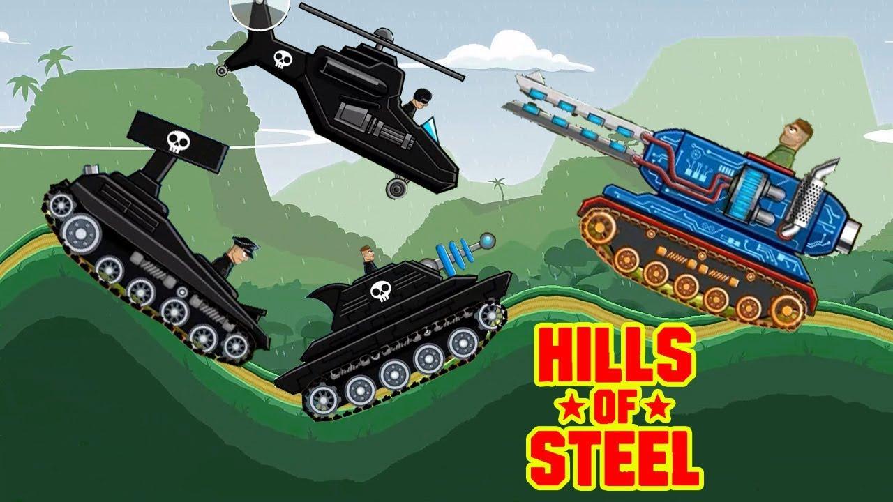 Hills of Steel apk mod - Videos for kids - Tanks - Games bii