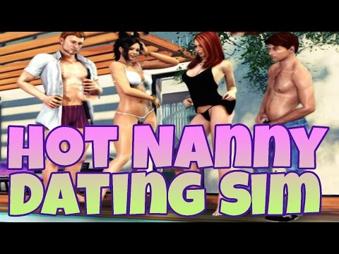 Pool Party w/ the HOT NANNY! Dating Sim #2 (Censored)