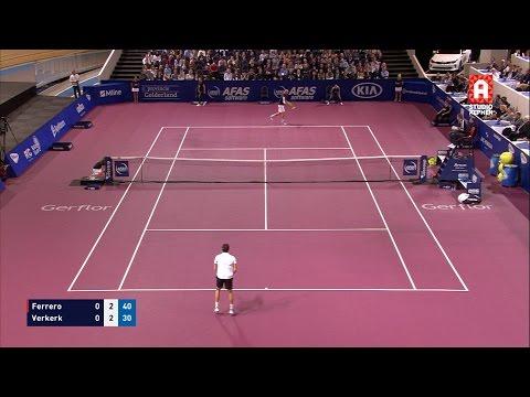 Martin Verkerk  Juan Carlos Ferrero op AFAS Tennis Classics 2016