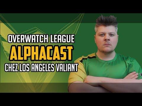AlphaCast : nouveau joueur pro chez Los Angeles Valiant !!! - Interview Overwatch League
