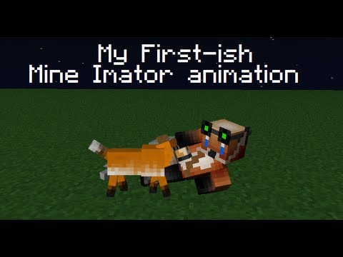 My first animation on Mine Imator