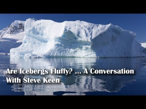 Are Icebergs Fluffy? ... A Conversation With Steve Keen
