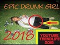 Hot drunk girl fail compilation  december 2018 Funny Girls teen
