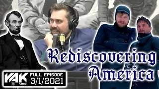 Nick & KB Give Behind The Scenes Of Rediscovering America | The Yak Full Episode 3-1-21