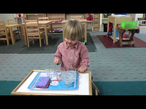 Making music with water glasses -Science Experiment