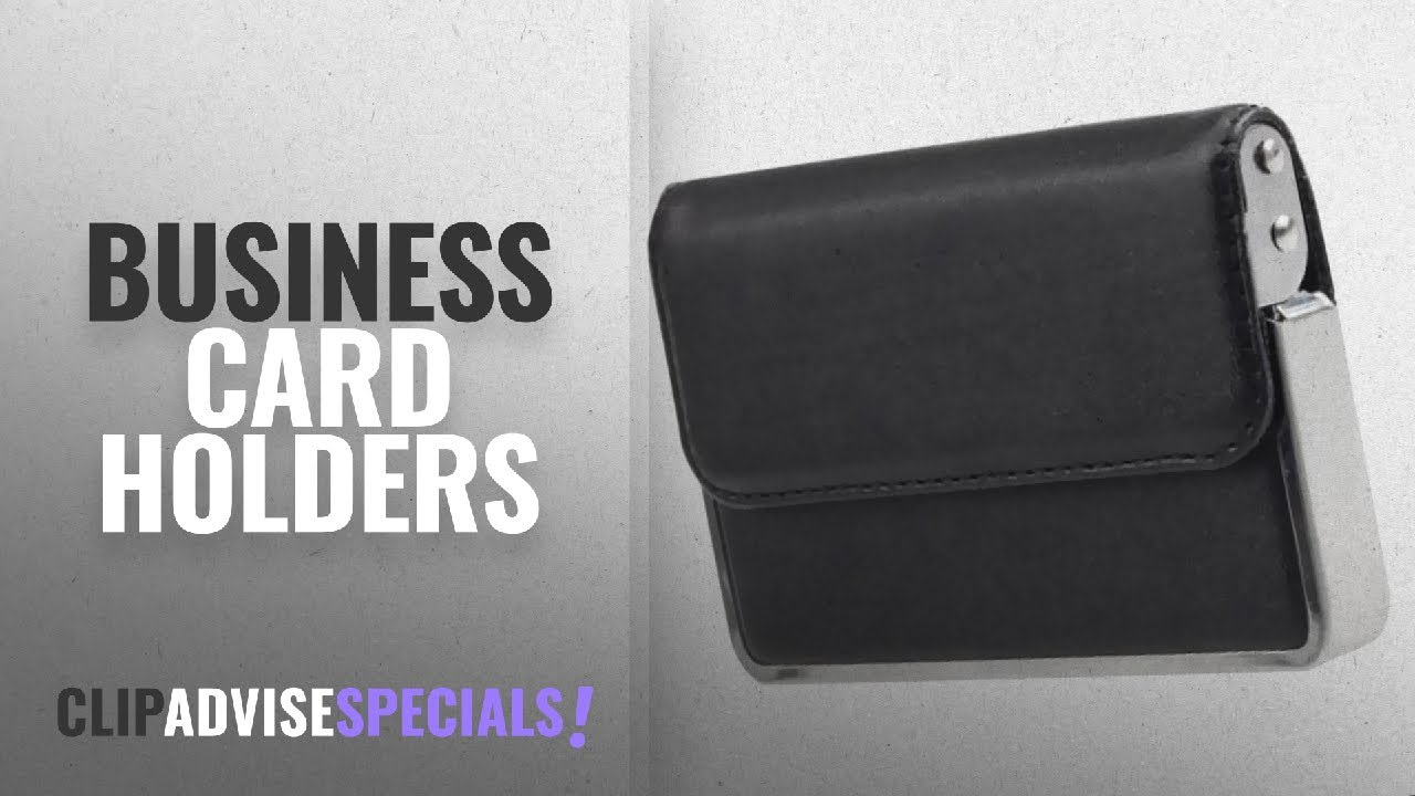 Top 10 Business Card Holders [2018]: Generic Leather Business Credit ...