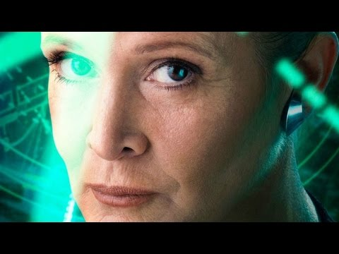 """Leia Remains """"Force Strong"""" in Star Wars: The Force Awakens - J.J. Abrams Interview"""