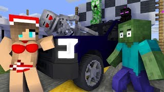 Monster school : Fast & Furious | Zombie & Skeleton - Funny Minecraft animation