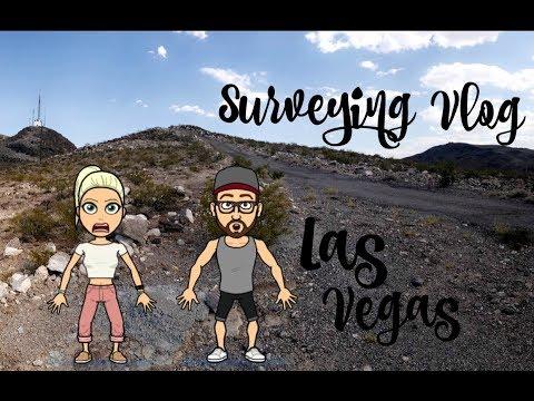 Surveying Vlog | Las Vegas