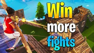 4 tips to WIN MORE FIGHTS in Fortnite! How to get better at Fortnite! Fortnite tips!