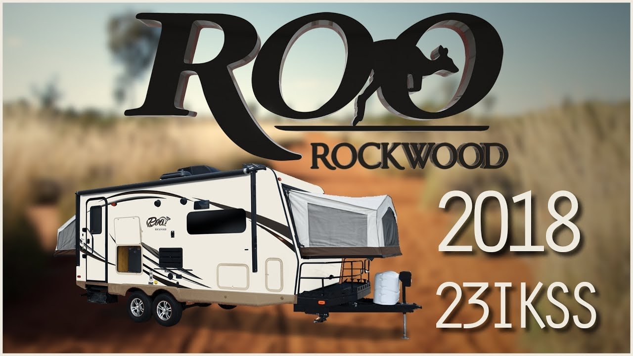 2018 Forest River Rockwood Roo 23IKSS Hybrid Trailer RV ...
