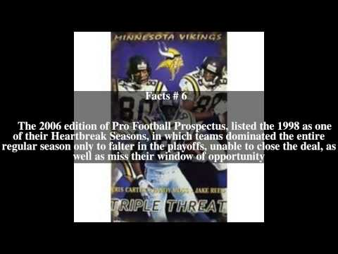 1998 Minnesota Vikings season Top # 10 Facts