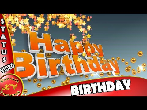 Birthday Wishes For Brother, Happy Birthday Greetings, Animation, Messages, Quotes, Whatsapp Video
