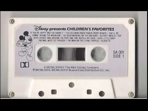 Disney Presents Children's Favorites Cassette