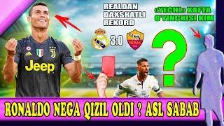 Роналду нега қизил олди, Реал ва Рамосдан дахшатли рекорд, Хафта футболчиси.