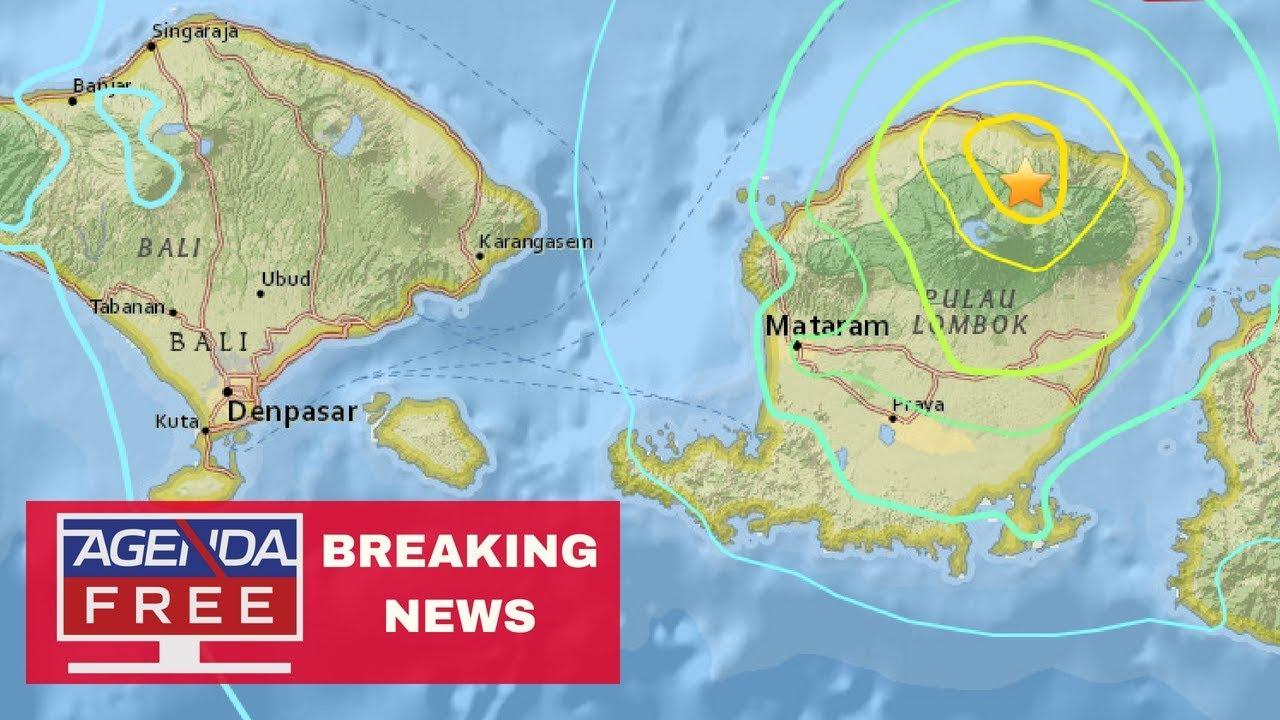 6 4 Earthquake Near Bali, Indonesia - LIVE BREAKING NEWS COVERAGE