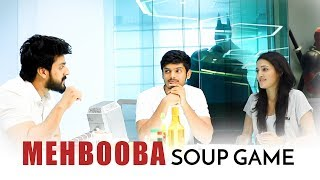 Team #Mehbooba Soup Game Full | Akash Puri | Neha Shetty | Vishu Reddy | Puri Jagannadh