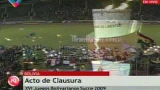 XVI Juegos Bolivarianos Sucre - Venezuela LIDER para Orgullo de TODOS los Venezolanos