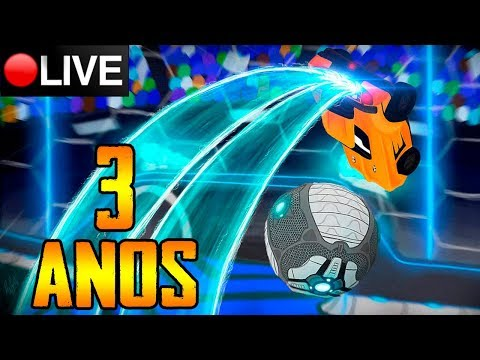 LIVE Rocket League ESPECIAL 3 ANOS DE CANAL