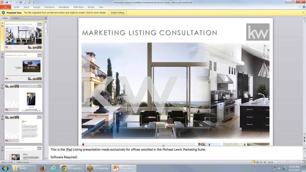 Listing Presentation Template Real Estate – brettfranklin.co