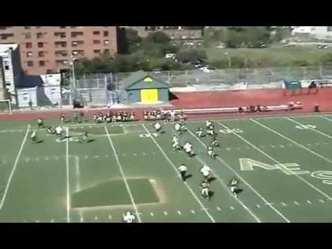 Malik Ford #3 highlights : 2013 Alfred E. Smith Football