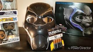 Marvel Legends Black Panther Helmet Review!
