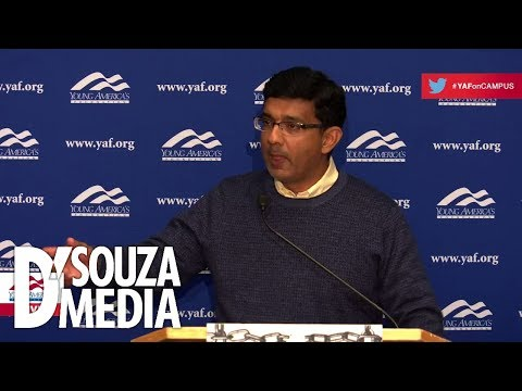 D'Souza embarrasses leftists at Brandeis U