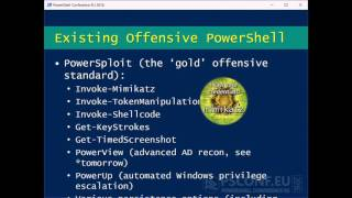 Building an Empire with PowerShell (Will Schroeder)