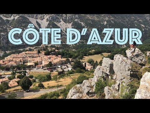 Expat Travel Vlog: Côte d'Azur | Vlog 016