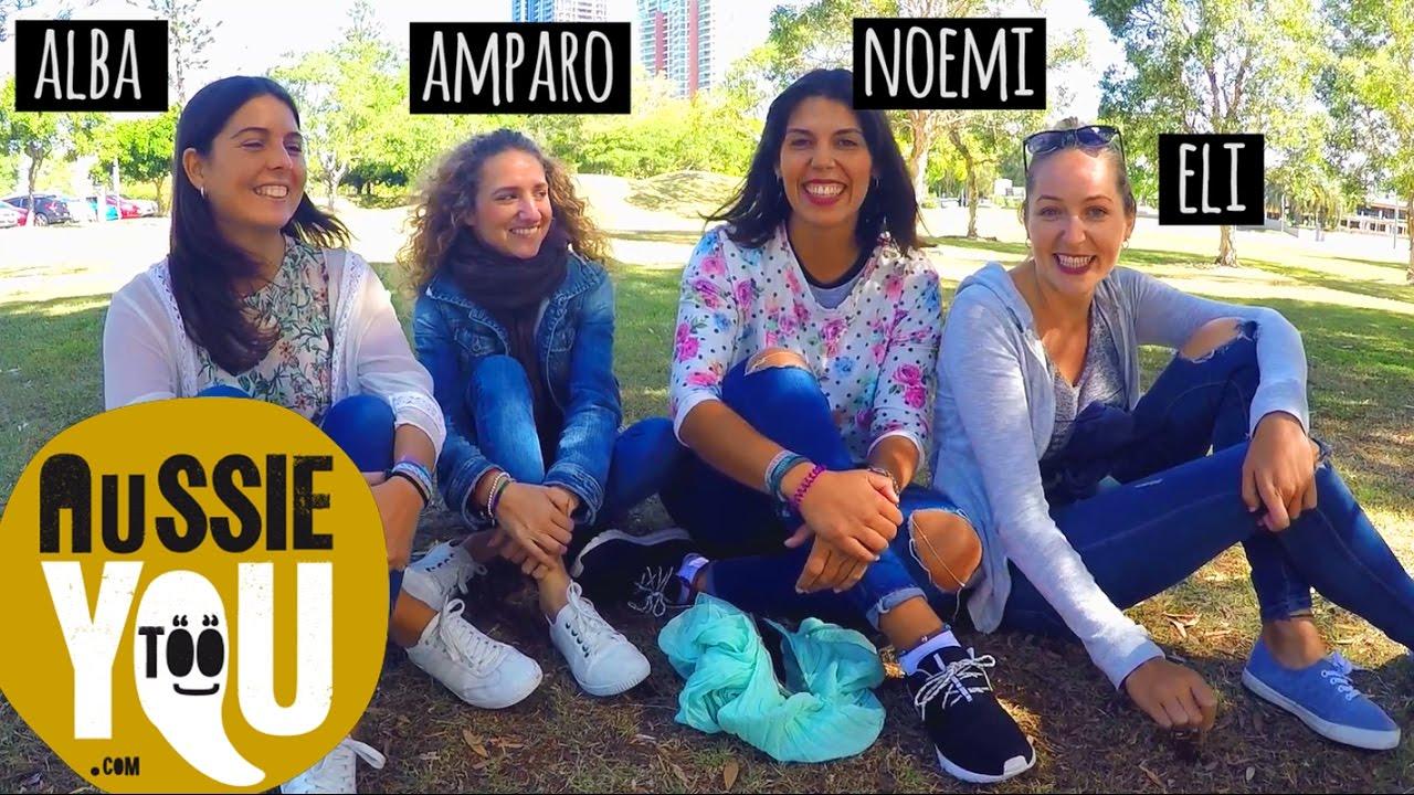 Cuatro Amigas De Valencia En Australia Alba Amparo Noemi Eli