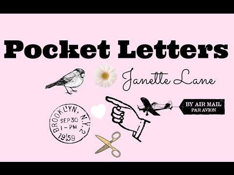 Pocket Letters Explanation | Founded by Janette Lane