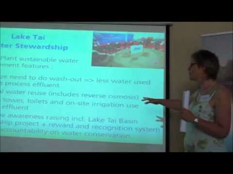 """""""Business, Water and Wetlands"""" - Bea Buyle, Procter & Gamble - Global Sustainability"""