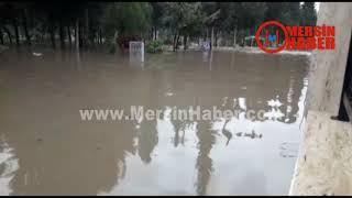 Mersin'de Aşırı Yağış Hayatı Olumsuz Etkiledi