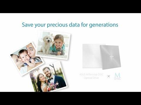 Save Your Precious Memories For Generations - ASUS M-Disc   ASUS