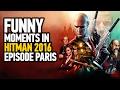 Hitman 2016 Episode 1 'Paris' - ''Funny Moment'' (Hate Journalists) :P