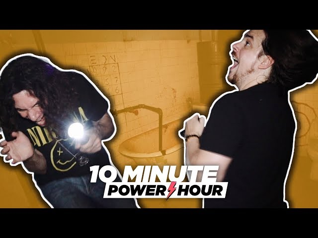 Escaping a Room of Terrors (Special Episode!) - 10 Minute Power Hour