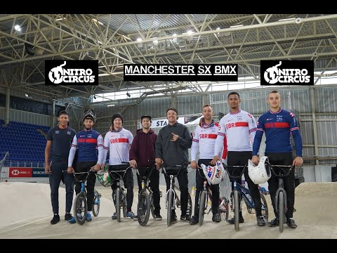 Nitro Circus Join Team GB BMX Team For A Session! VLOG_025