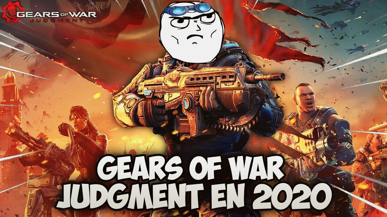 ASÍ es JUGAR GEARS OF WAR JUDGMENT en el 2020 y con MEMES!