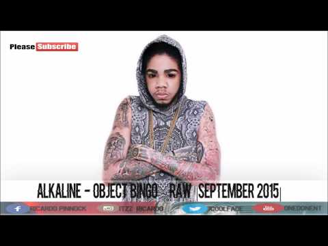 Alkaline - Object Bingo ● Raw |September 2015|