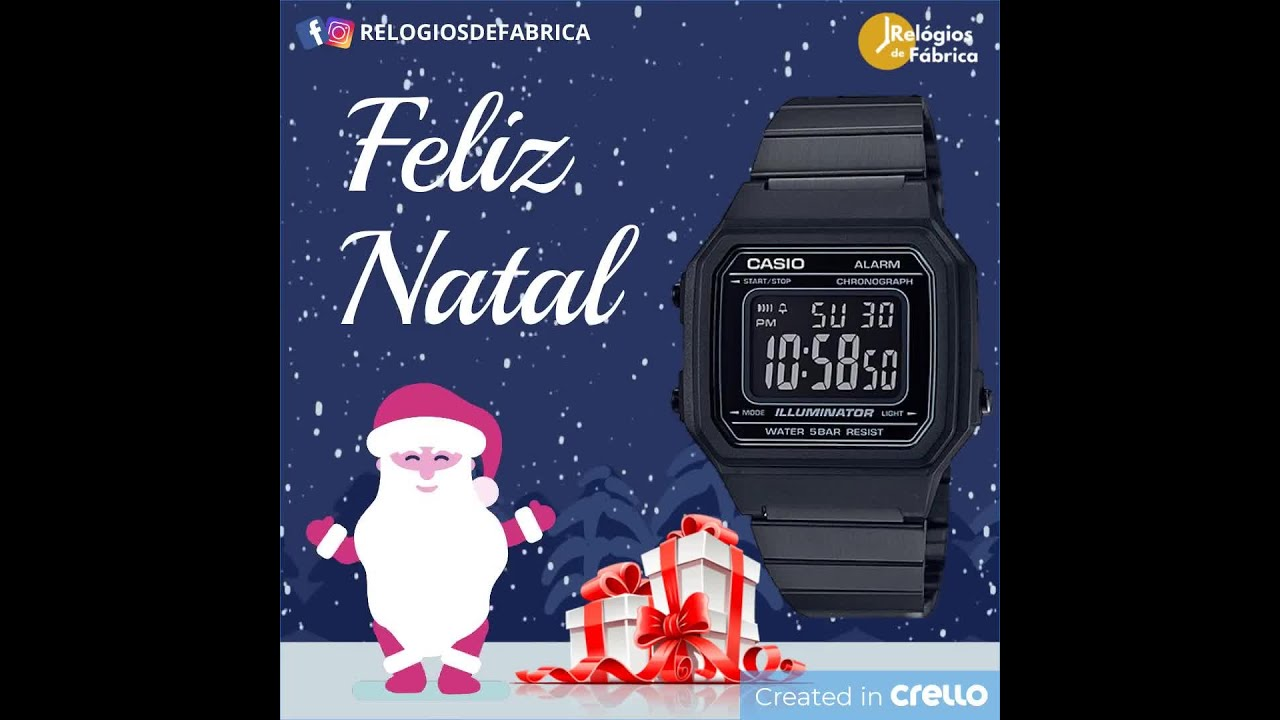 940cc1fea3b RELÓGIO CASIO VINTAGE UNISSEX B650WB-1BDF - Relógios de Fábrica ...