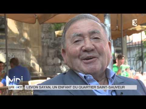 SUIVEZ LE GUIDE : Levon Sayan, un enfant du quartier Saint-Sauveur