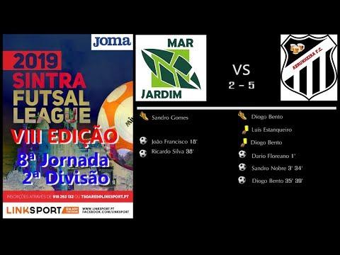 VIII Edição Sintra Futsal League 2ªDiv 8ªJorn Mar Jardim vs Abrunheira FC 2 - 5