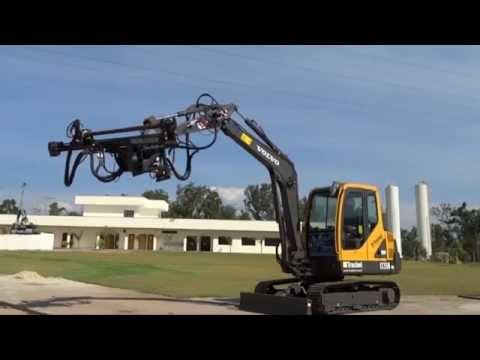 Versatile & Efficient Mini Excavator Mounted Drilling Rig