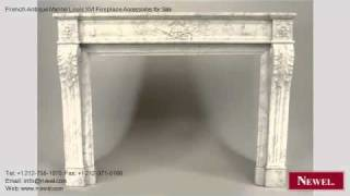 French Antique Mantel Louis Xvi Fireplace Accessories For