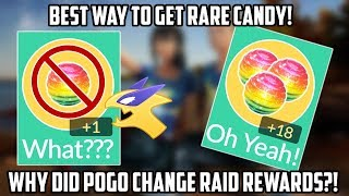 Rare Candy Issue In Pokemon Go! What To Do After Raid Changes!