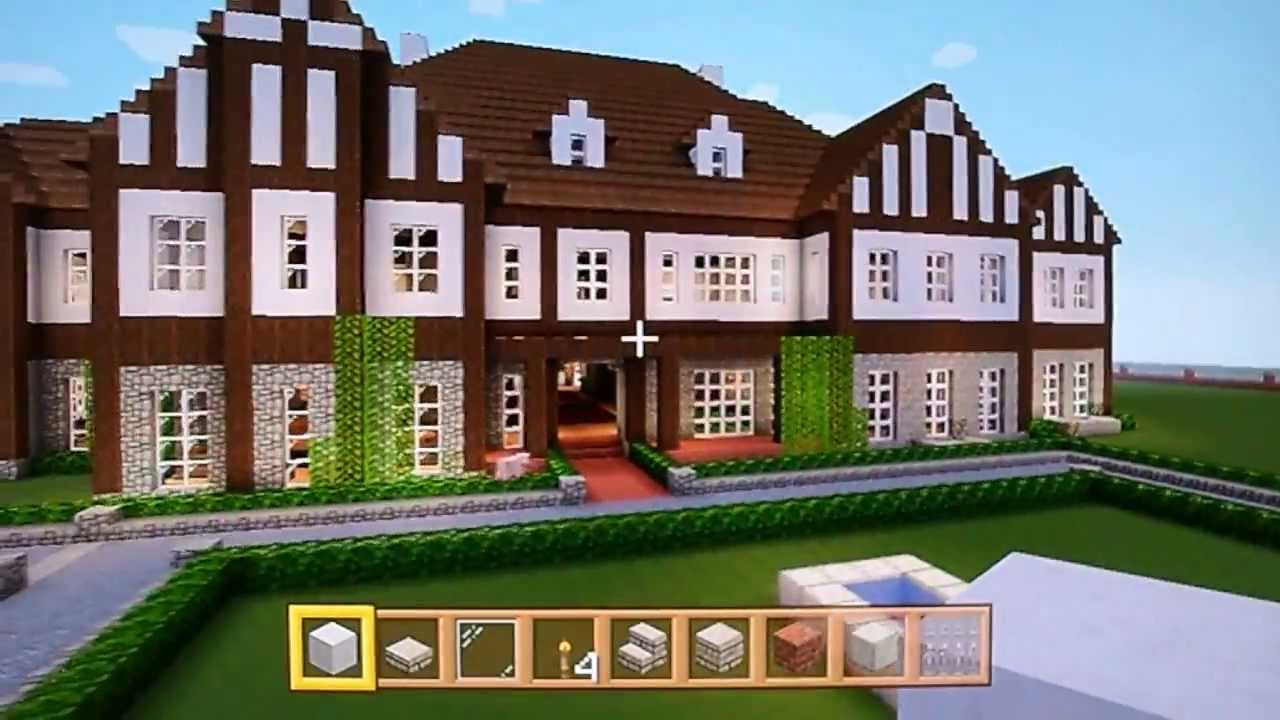 Minecraft xbox 360 tudor mansion tour beautiful part 2 Nice house music