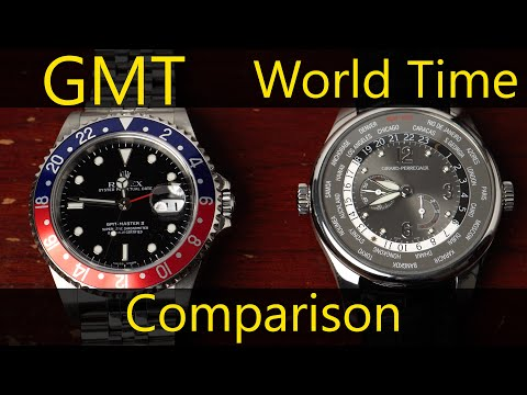 GMT And World Time Watch Comparison