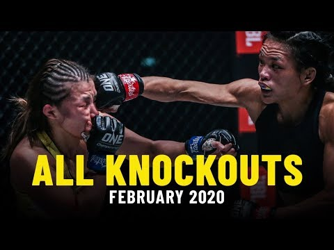 All Knockouts From February 2020   ONE Highlights