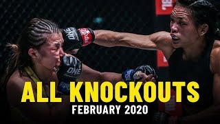 All Knockouts From February 2020 | ONE Highlights